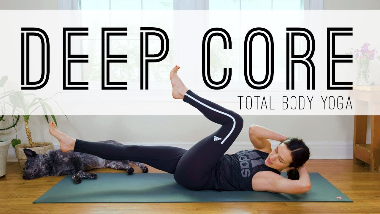 Total Body Yoga  –  Deep Core  –  Yoga With Adriene