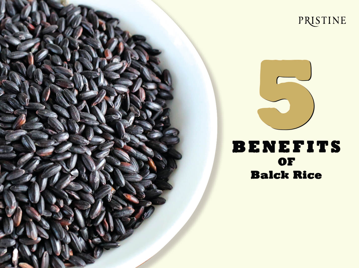 5 benefits of black rice & easy recipes to get your hands on