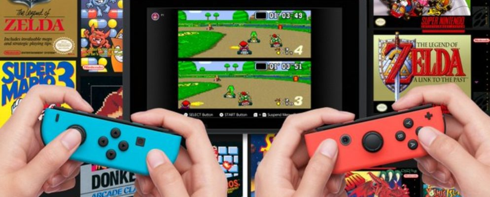 Nintendo Adds SNES Games to Switch Online