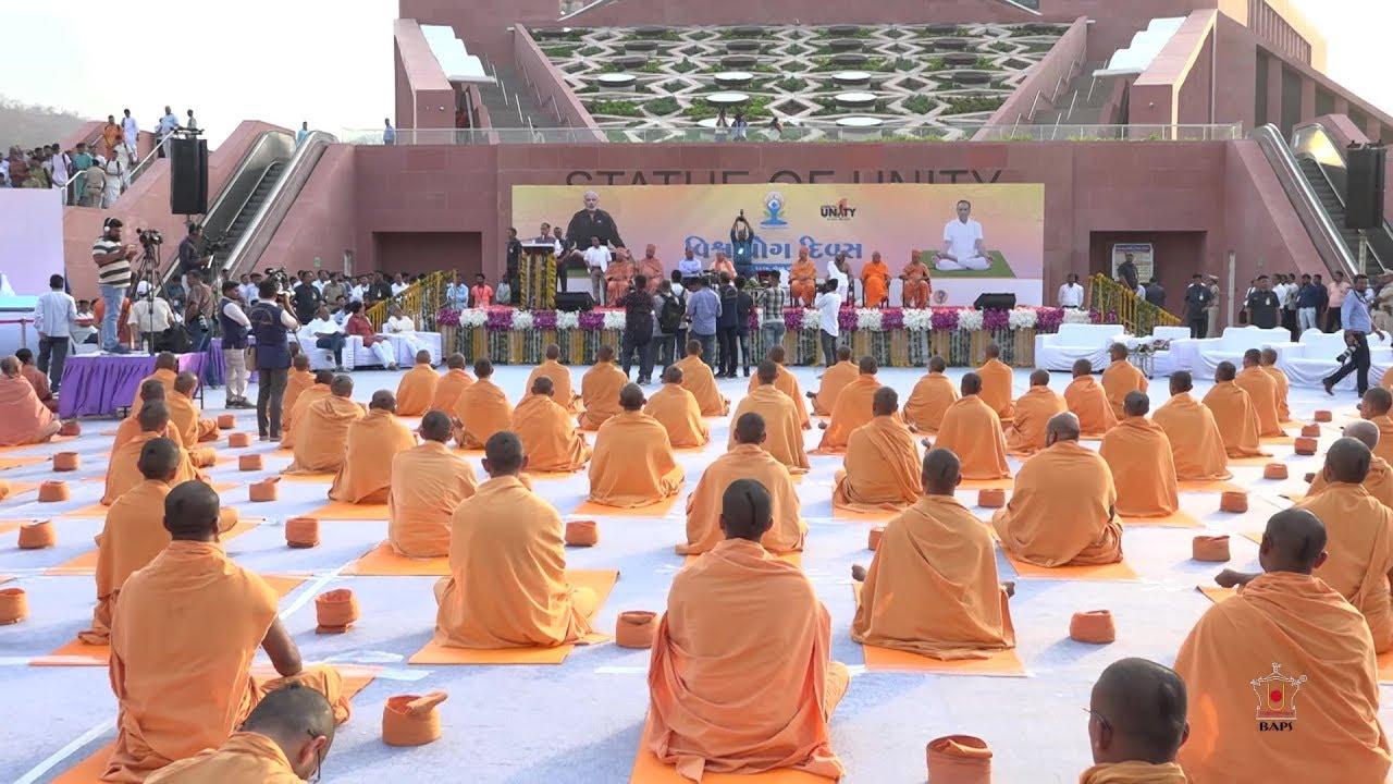 Celebration of International Day of Yoga, India