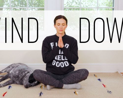 Wind Down Yoga   –  12 Minute Bedtime Yoga   –  Yoga With Adriene