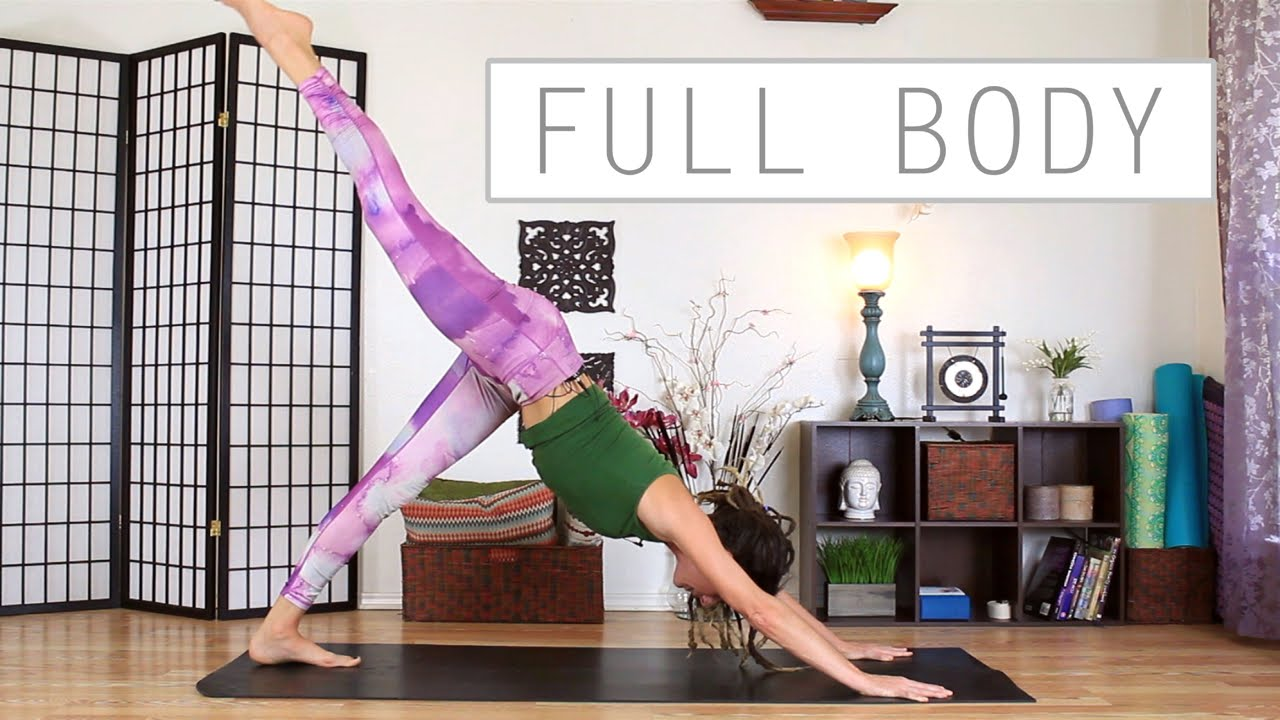 Full Body Stretch - Beginners Full Body Yoga Workout