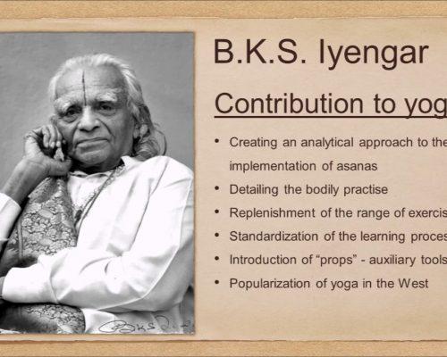 History of Yoga by Andrey Safronov part 15 BKS Iyengar