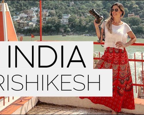 INDIA: RISHIKESH | MEDITAÇÃO, YOGA e RIO GANGES – vlog #7