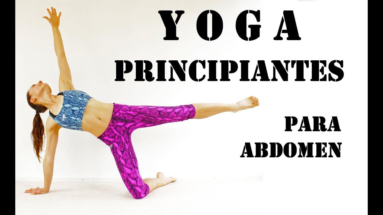 Yoga para PRINCIPIANTES - Adelgazar Abdomen 30 min