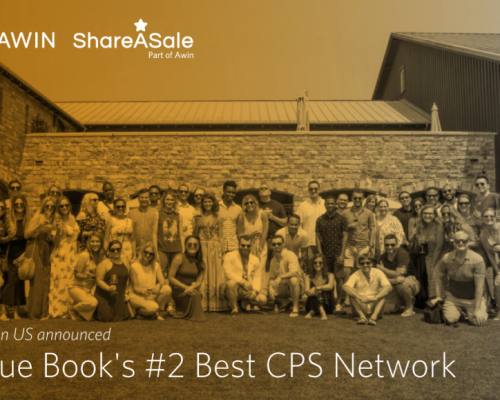 Awin US named mThink Blue Book #2 Best CPS Network