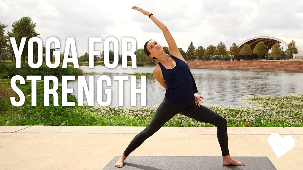 Yoga For Strength - 40 Minute Vinyasa Sequence