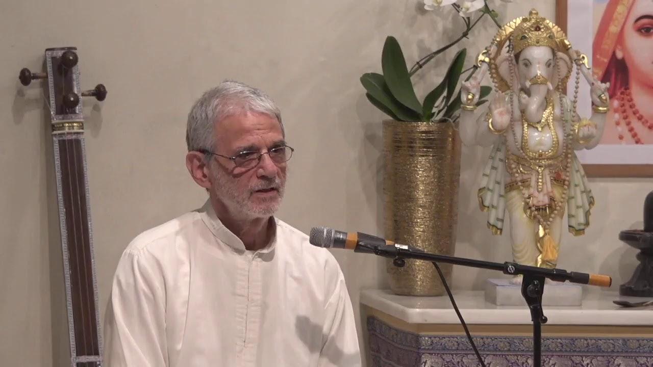 Yoga Vidya Samstagabend Satsang mit Narendra 25.01.2020