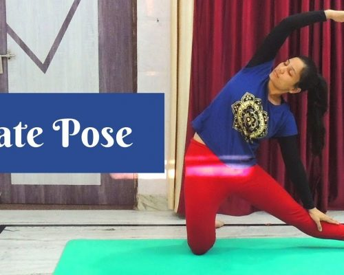Gate Pose (Parighasana) | Foundations of Yoga | Indian Yoga With Dolly's Studio