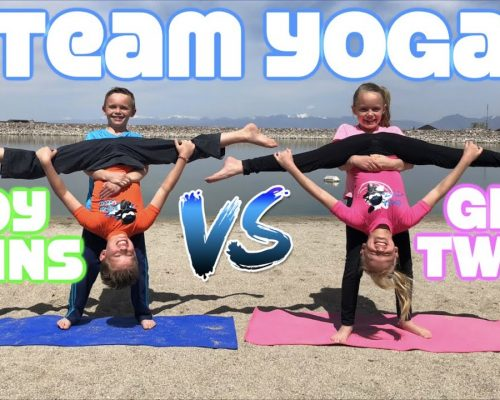 Boy Twins vs Girl Twins – Team Yoga