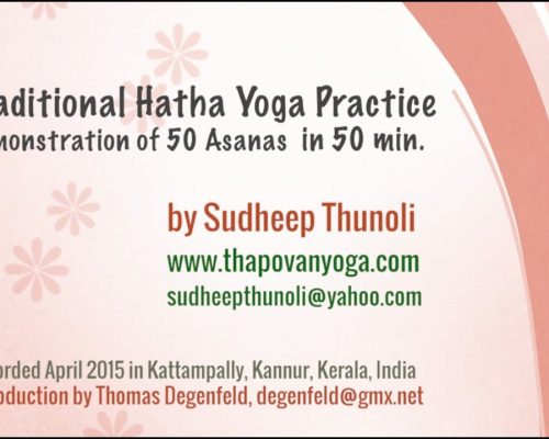Traditional Hatha Yoga – 50 Asanas for Beginners and Advanced Yogies