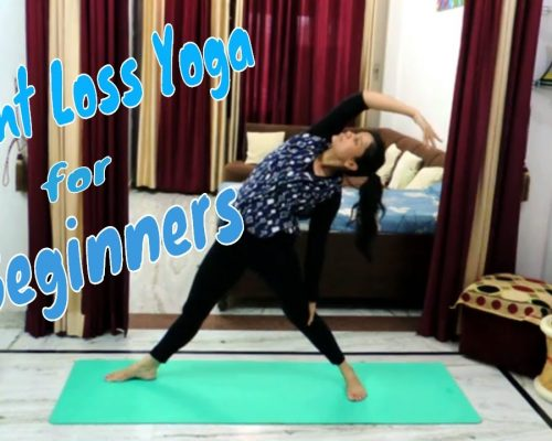 Yoga Weight Loss Challenge | Beginners Yoga – 15 Minute Fat Burning | Indian Yoga – Dolly's Studio