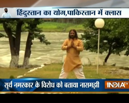 Meet Shamshad Haider, Yoga guru of Pakistan | India Tv