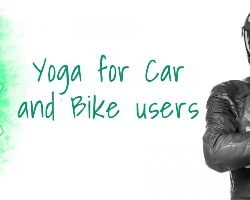 Simple Yoga Tricks for Bikers and Car users | Yoga for health
