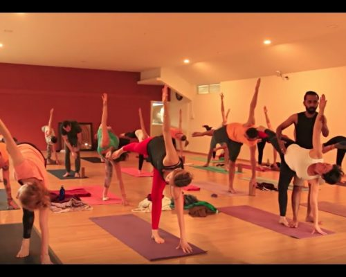 Hatha Yoga Traditional Class in Mysore India – One hour Full