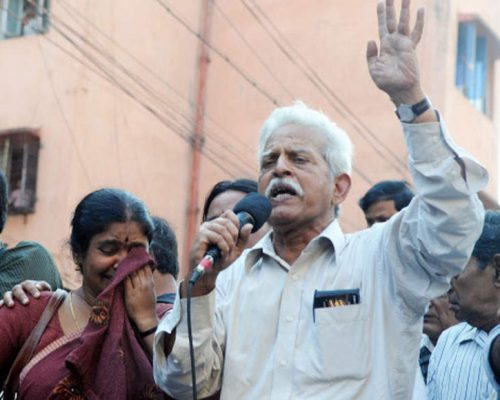 Jailed writer Varavara Rao hospitalised in Mumbai