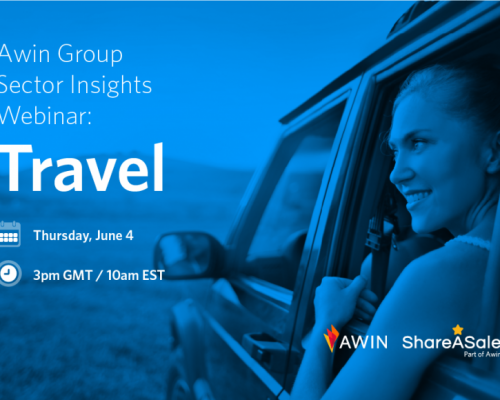 Save the Date: Awin Group Travel Sector Insights Webinar