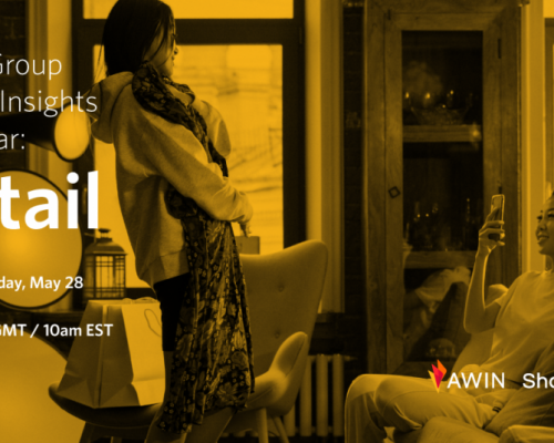 Save the Date: Awin Group Retail Sector Insights Webinar