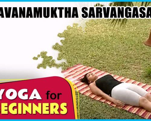 Pavanamuktha Sarvangasanam | Yoga for beginners | Health Benefits | Manorama Online