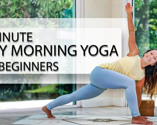 10 Minute Easy Morning Yoga for Beginners — Full Body Yoga Flow