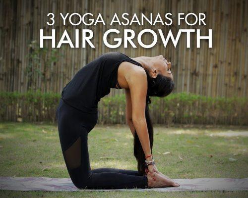 Yoga Asanas For Hair Growth | Fit Tak