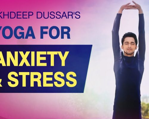 Yoga For Anxiety and Stress – Simple Yoga Asanas (Stress Relief)