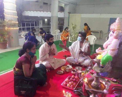 Marathis in Hyderabad go 'live' with online aartis