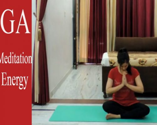Yoga – Morning Meditation – Positive Energy | Indian Yoga with Dolly's Studio