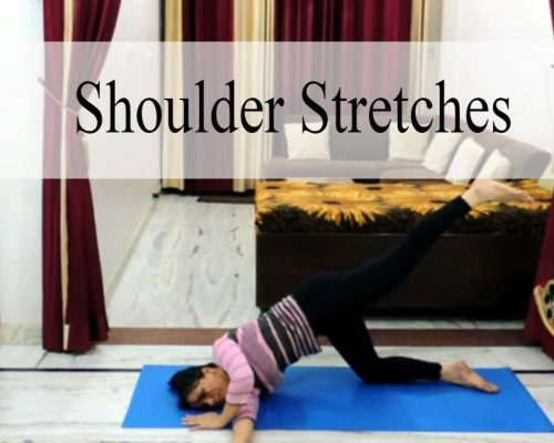 Yoga for Neck and Shoulder Pain Relief | Shoulder Stretches | Indian Yoga with Dolly's Studio