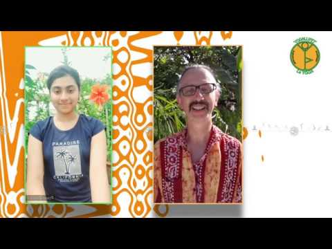 yoga practice with Koyena Roy (India) and Philippe Gallifet (France)