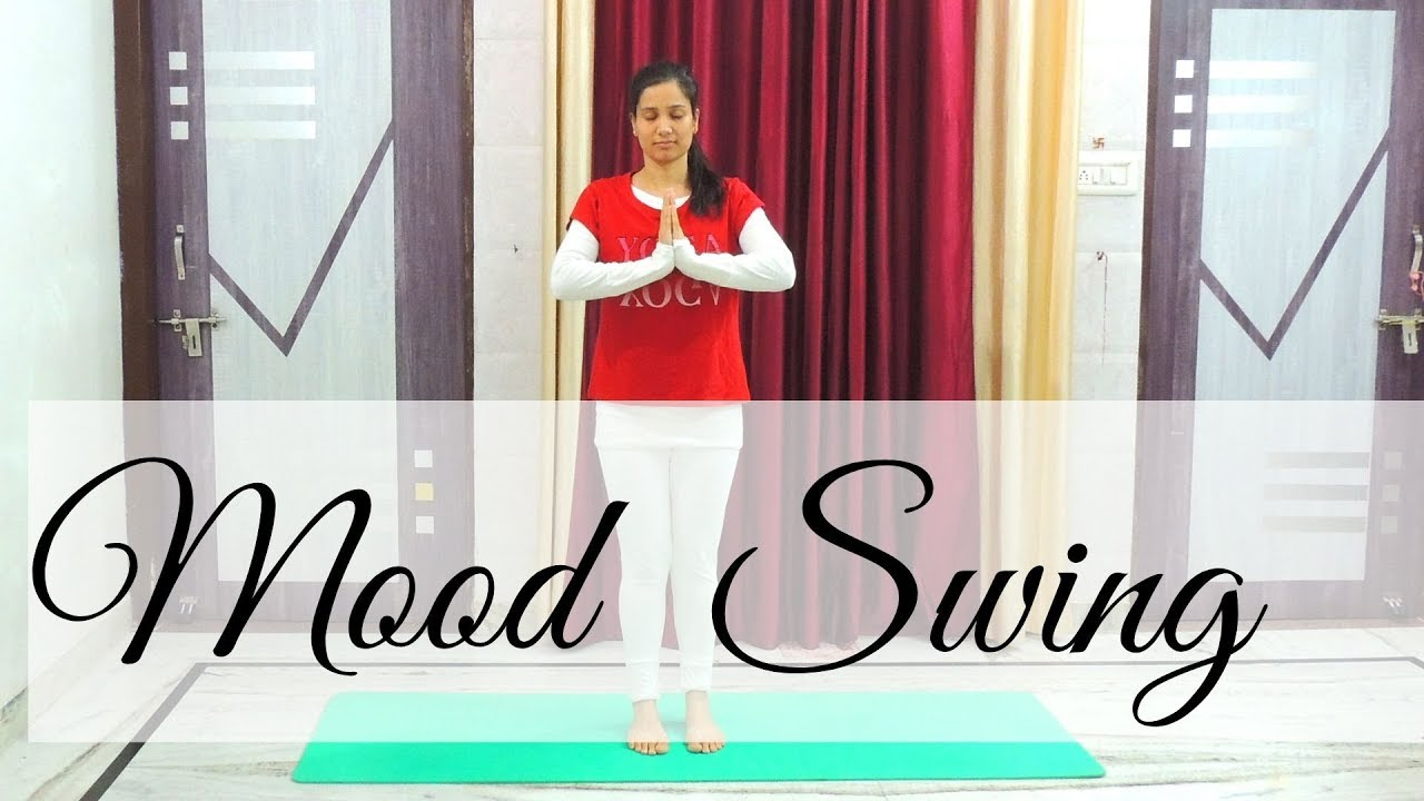 Yoga for Mood Swings   Balancing Stress Hormones   Indian Yoga with Dolly's Studio