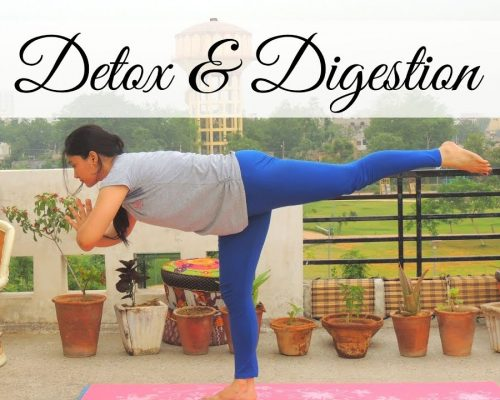20 Minute Yoga Flow for Detox and Digestion | Indian Yoga with Dolly's Studio