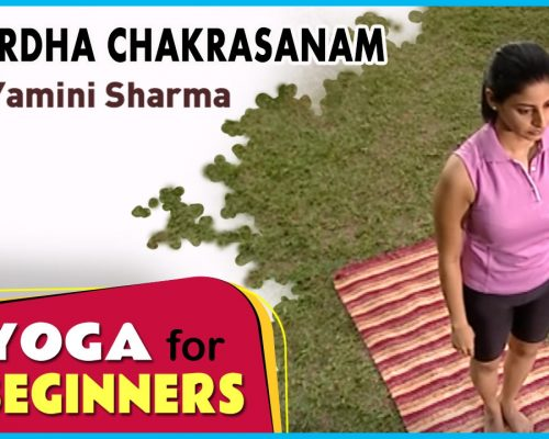 Ardha Chakrasanam | Yoga for beginners by Yamini Sharma | Health Benefits | Manorama Online