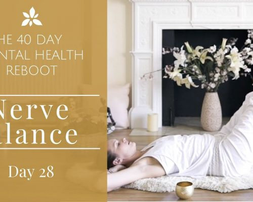 Calm Your Nerves –  Yoga for Mental Health – Day 28 with Mariya Gancheva