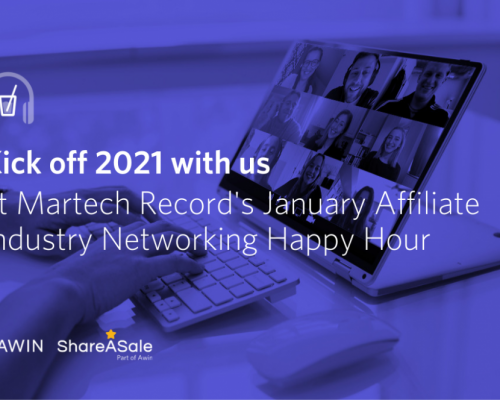 Join us at Martech Record's January Affiliate Industry Networking Happy Hour