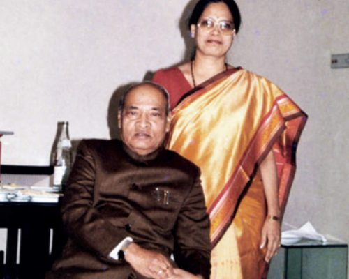 TLC: Narasimha Rao's daughter files nomination