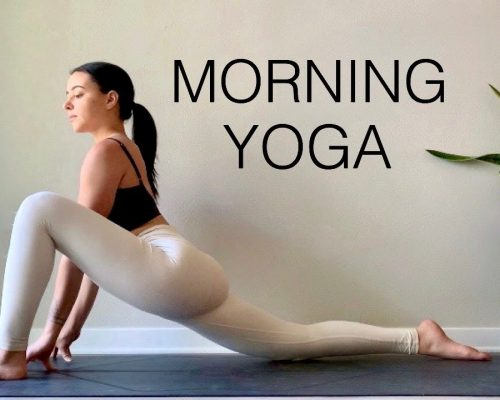 20 Minute Morning Yoga Flow | Daily Yoga Routine – Stretch + Strengthen