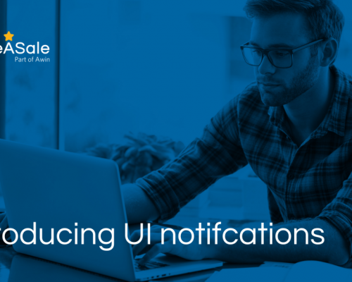 UI notifications now on the ShareASale platform