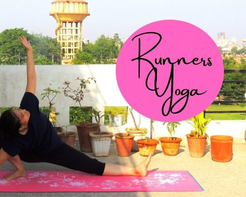 Runners Yoga | Post Run | Improves Physical & Mental Stamina |  Indian Yoga with Dolly's Studio