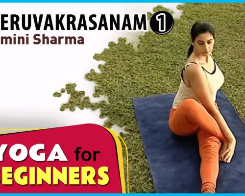 Meruvakrasanam 1 | Yoga for beginners by Yamini Sharma | Health Benefits | Manorama Online
