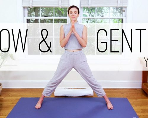 Yoga For Seniors    Slow and Gentle Yoga