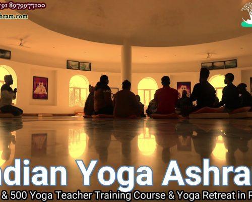 Om Chanting ….  Indian Yoga Ashram