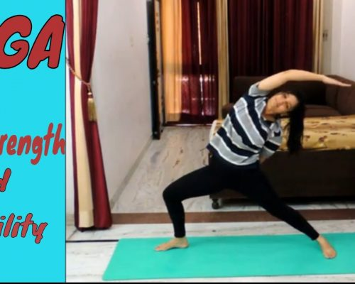 Yoga for Core Strength and Stability | Indian Yoga with Dolly's Studio
