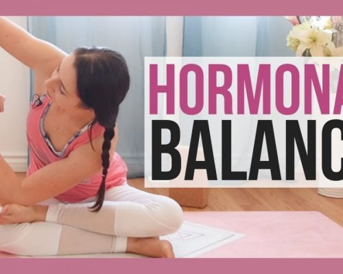 30 min Yin Yoga for Hormones – Yoga for Adrenal Fatigue & Thyroid Issues