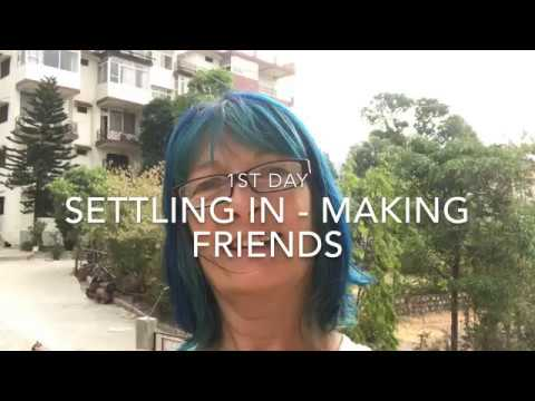 Indian Yoga Diaries – Day 1 making friends and settling in!